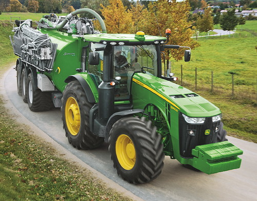 John Deere R Series Tractors : John deere updated r series for