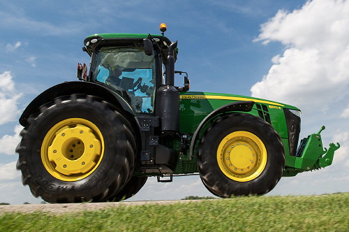 John Deere R Series Tractors : John deere new r and series tractors introduced