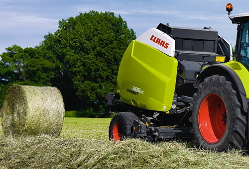 Claas: Latest Variant baler has widest pick-up on the market