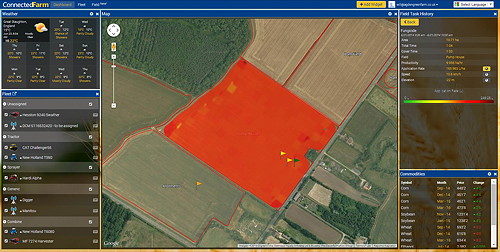 Trimble Agriculture Share Information Across The Entire Farm