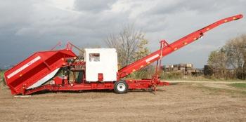 Grimme: FL720 mobile field-loading station