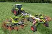 Claas: The all-rounder Liner 3100 rake for large farms