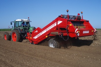 Grimme: Maxi-Bed system increases potato and vegetable output