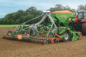 Amazone: Cirrus drills gain a rotary cultivator for added convenience