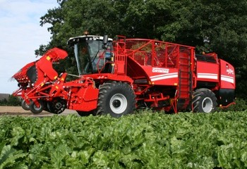 Grimme: Conventional sugar beet harvester added for 2010