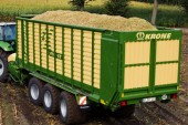 Krone: Electronic weighing on ZX dual-purpose forage wagons