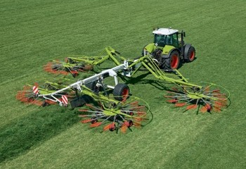 Claas: Extra-wide four-rotor swather