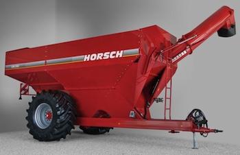 Horsch: Chaser bin aids harvest efficiency