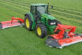 Kuhn: Expanded range of front- and rear-mounted PZ mowers