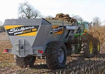 Shelbourne Reynolds: Two new manure spreaders introduced