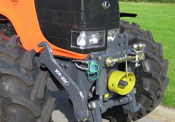 Opico: New front linkage for Kubota M128 tractor