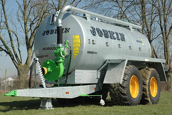 Joskin: Gravity-filled slurry tanker added to range