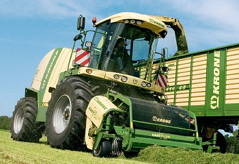 Krone: New-generation forage harvesters unveiled