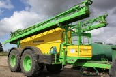 Dammann: Tandem-axle sprayers launched in the UK
