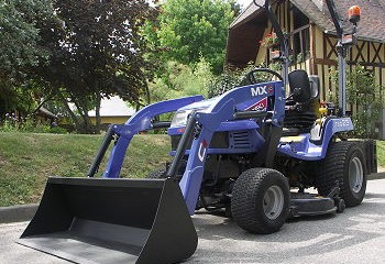 Chillton: New MX loader for compact tractors