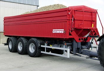Grimme: Multi-Trailer handles potatoes gently