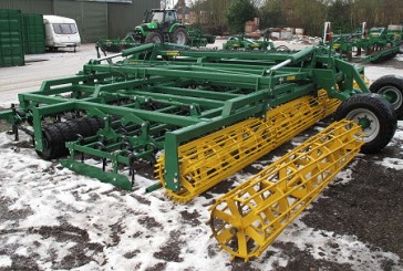 Cousins of Emneth: New features for precision seed bed harrow