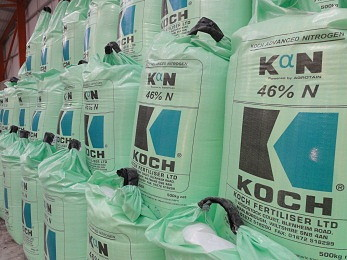 Koch Fertilser: New nitrogen fertiliser choice for Britain's farmers