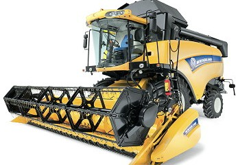 New Holland: Improved CX5000 and CX6000 combines