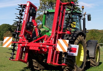 Opico: Wider folding Sward Slitters cover the ground more quickly