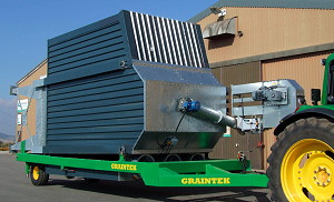 GrainTek: Mobile continuous or batch dryer launched