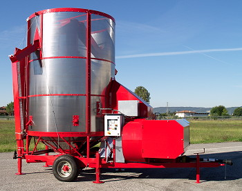 Opico: Lower-cost grain dryer for smaller farms