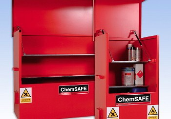 Spaldings: New ChemSafe range of safe storage solutions
