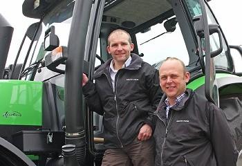 Same Deutz-Fahr: Dealer appointed for Cheshire