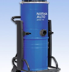 Spaldings: Nilfisk Attix 115 vacuum added to range