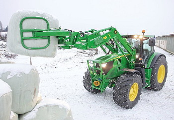 John Deere: New H-Series loaders launched