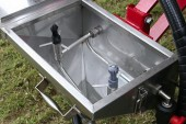 Hypro: Nozzles feature on new rinse hopper