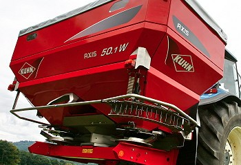 Kuhn: Axis now available with Isobus compatibility