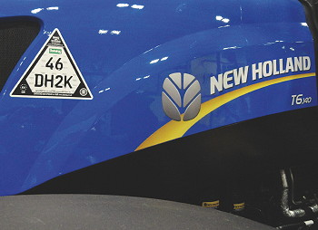 New Holland: Cesar security for T6 and T7 tractors