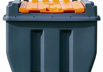 Harlequin Plastics: Transfuel plastic bunded portable diesel tank