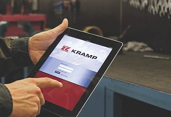 Kramp: Mobile parts ordering now available