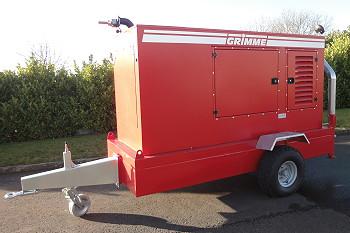 Grimme UK: Grimme irrigation pumpset updated