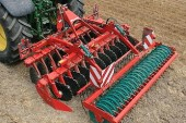 Kverneland: Qualidisc harrows from 3-7m