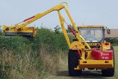Twose: TP525 reach arm mower for farmers and contractors