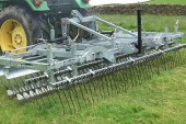 Opico: Pasture Harrow cleans the sward for faster recovery