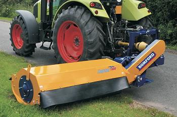 Bomford: Raptor provides verge-mowing flexibility