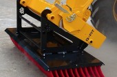 Spaldings: Push broom is simple, efficient and effective