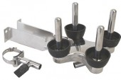Dairy Spares: Jetter tray has robust stainless candles