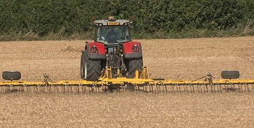 Claydon: Lamma launch for 15m straw harrow