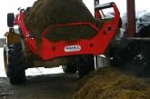 Quad-X: Forager X10L front loader bale unroller