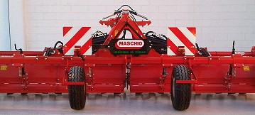 Opico: Rotary cultivator with wheels tackles vegetable crop residues