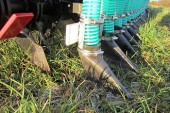 Opico: Grass slitter slurry injector gives improved nutrient utilisation