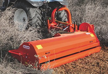 Opico: Left-hand Maschio Giraffona flail mower introduced