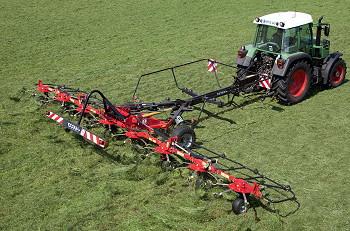 Fella: New model joins Transport tedder range