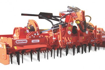 Opico: Hydraulic folding Maschio power harrow launched