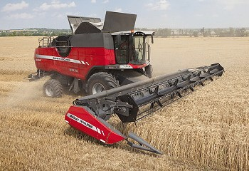 Massey Ferguson: New features for Delta and Centora combines